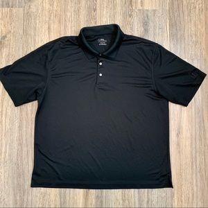 Black PGA Tour Men's Polo